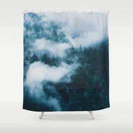 Embracing serenity - Landscape Photography Shower Curtain
