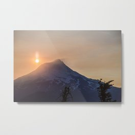 Mt. Hood Sunset Metal Print