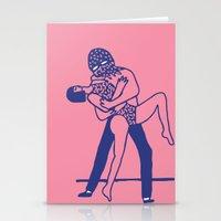 dancing Stationery Cards featuring dancing by Regina Rivas Bigordá