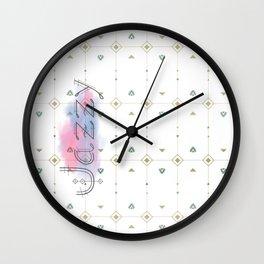 Jazzy Okami v.4 Wall Clock