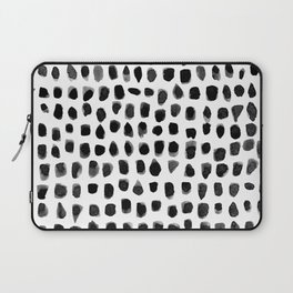 Watercolor Dots Laptop Sleeve