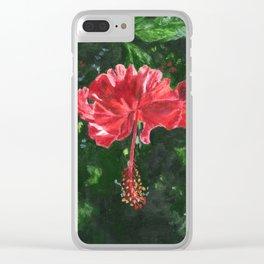 Flamenco by Teresa Thompson Clear iPhone Case