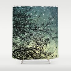 Starry Sky Shower Curtain