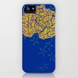 Floral Brain iPhone Case