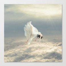 Free Falling Dream Canvas Print