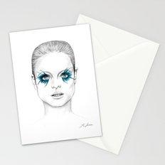 Blue Eyed Girl Stationery Cards