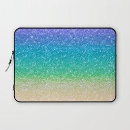 Rainbow Glitter Laptop Sleeve