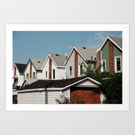 Backdoors Art Print