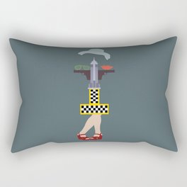 Taxi driver Rectangular Pillow