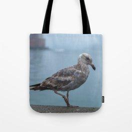 Young Gull Walking Tote Bag