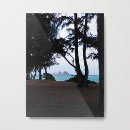 WAIMANALO BEACH 2 Metal Print