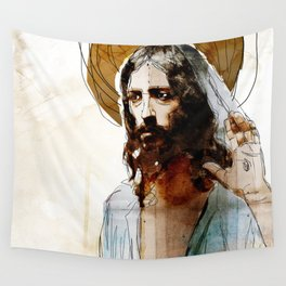 Shalom Aleichem/Peace Be With You Wall Tapestry