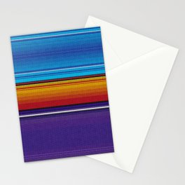 Mexican serape #4 Stationery Cards