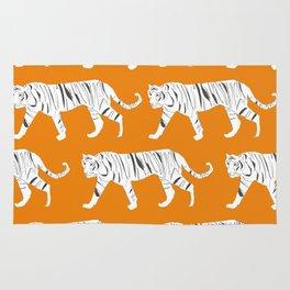 Tiger Print Rug