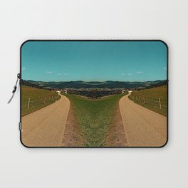Country road into some autumn scenery | landscape photography Laptop Sleeve
