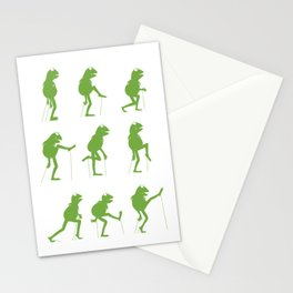 Ministry of Silly Muppet Walks (UPDATED) Stationery Cards