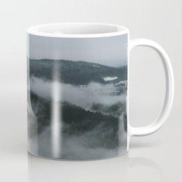Foggy Mountain Morning Coffee Mug