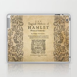 Shakespeare, Hamlet 1603 Laptop & iPad Skin