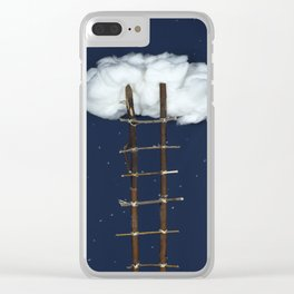 Stairway to the clouds Clear iPhone Case