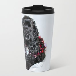 Valentine Puppy Photography Print Travel Mug
