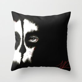 Death is a WoMaN Throw Pillow