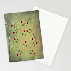 A Dozen Red Roses Stationery Cards