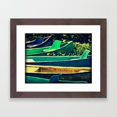Nanciyaga, Veracruz, MX Framed Art Print