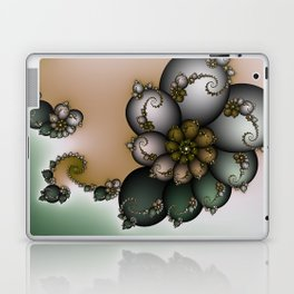 Trinket Flower Fractal Laptop & iPad Skin