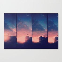 Sunrise over Glasgow Canvas Print