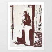 SAXSOLO Art Print
