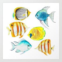 Tropical Fish - Marine Collection Art Print