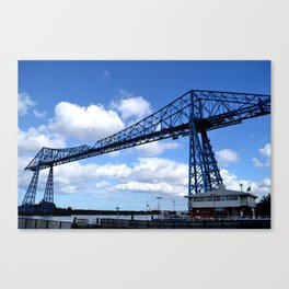 Middlesbrough Transporter Bridge Canvas Print