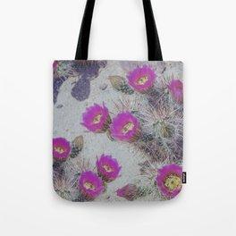 Cactus Bloom Carpet Tote Bag
