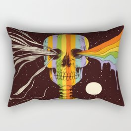 Dark Side of Existence Rectangular Pillow