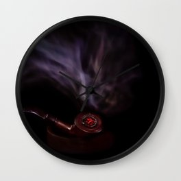 A Pipe Wall Clock