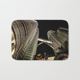 Petronas Twin Towers Bath Mat