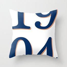 1904 Throw Pillow