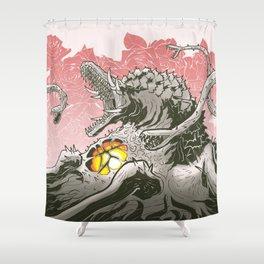 Rose Nasty Shower Curtain