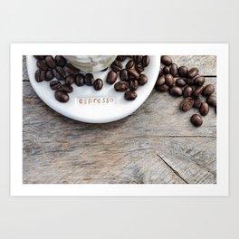 Addiction - Fine Art Coffee Photo Art Print