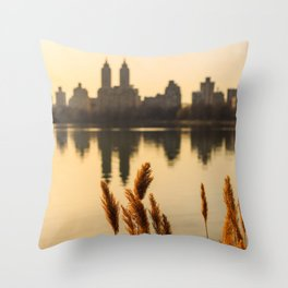 Dance Of The Reeds Throw Pillow