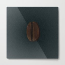 Ethiopian Coffee Bean Metal Print