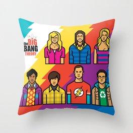 TheBigBangTheory Throw Pillow
