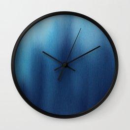 Human Figures In Blue Wall Clock