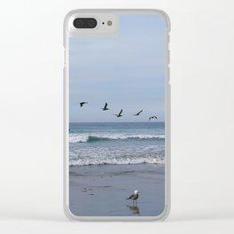 Flight of the Sea Birds Clear iPhone Case