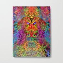 Portal of A Fractured Mind Metal Print