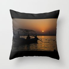 the last ride home... Throw Pillow