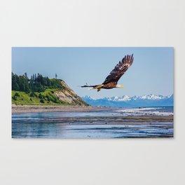 Alaskan Eagle Canvas Print
