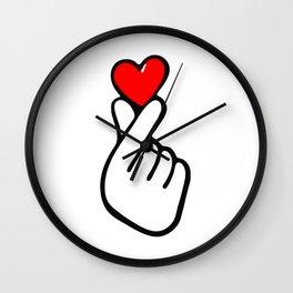KPOP HEART LOVE Wall Clock