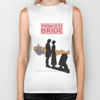 princess bride Biker Tanks featuring The Princess Bride by mattranzetta