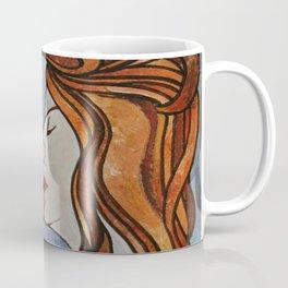 Lesbian Kiss (Art Nouveau Style) Coffee Mug
